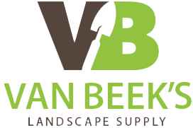 van beek's landscape supply logo